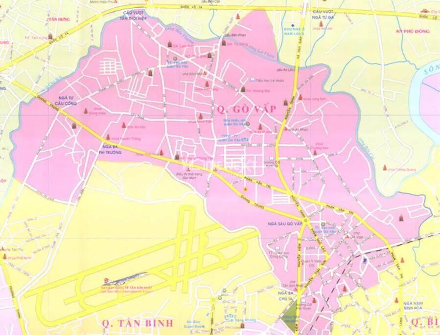 Cập nhật thông tin quy hoạch quận Gò Vấp mới nhất 2021
