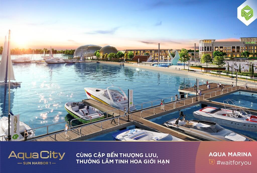 phân khu Aqua Marina, Aqua city