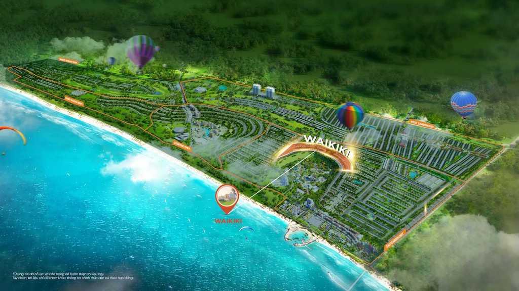 Ưu điểm từ vị trí tọa lạc NovaWorld Phan Thiet