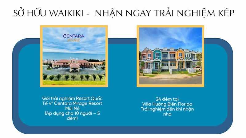 Ưu đãi mở bán phân khu Waikiki NovaWorld Phan Thiet
