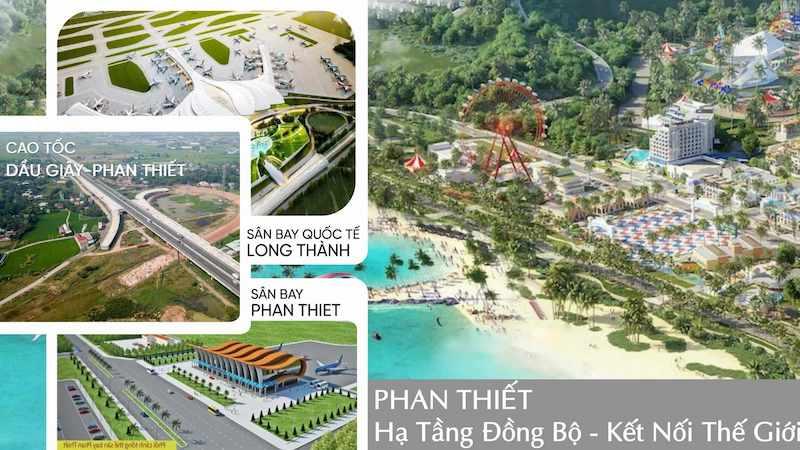 hạ tầng hoàn chỉnh tại NovaWorld Phan thiet
