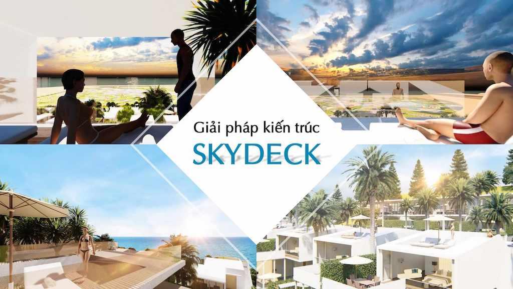 Giải pháp kiến trúc skydeck tại phân khu Waikiki NovaWolrd Phan Thiet