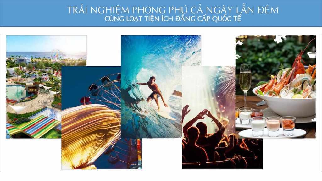 Tiện ích đẳng cấp tại phân khu Waikiki NovaWolrd Phan Thiet