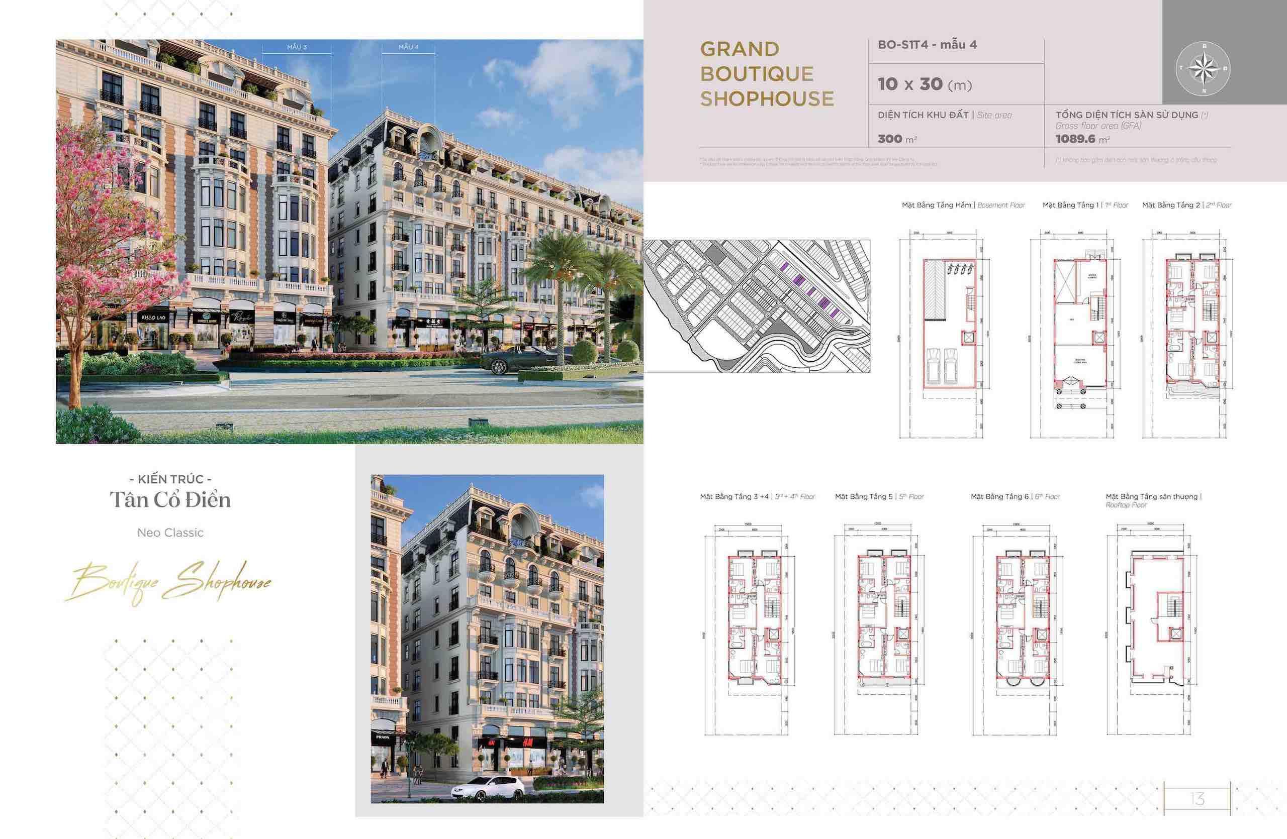 Thiết kế Boutique Hotel Aqua Marina Aqua city