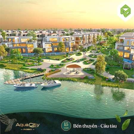 Giá bán và ưu đãi khi mua dự án Aqua City mới nhất 2021