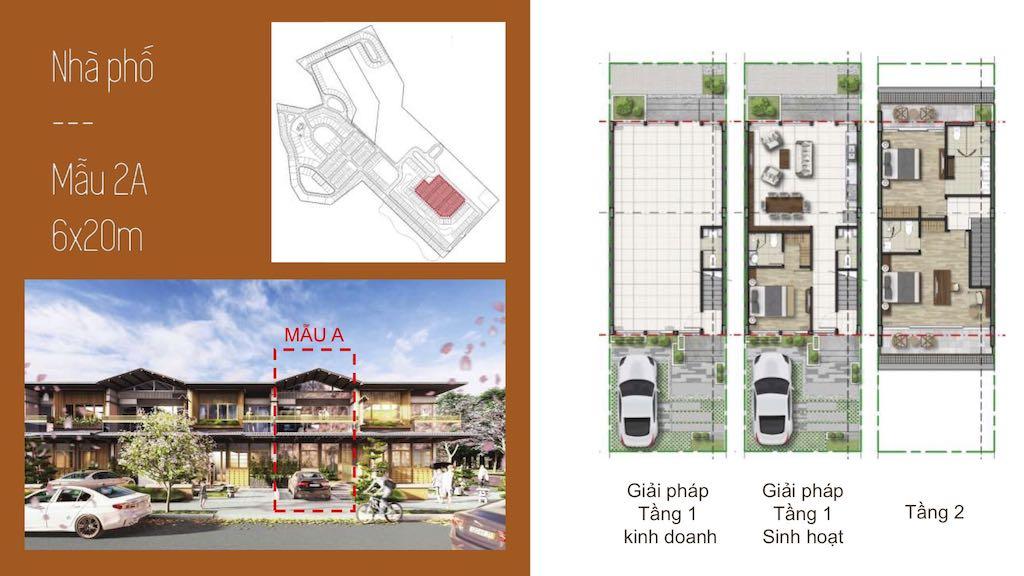 Thiết kế nhà phố, biệt thự Bình Châu Onsen NovaWorld Hồ Tràm