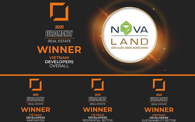 Novaland Group được Euromoney bình chọn đơn vị phát triển BĐS tốt nhất năm 2021